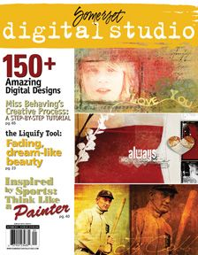 Somerset Digital Studio magazine cover congrats!  Congrats to Digital Elite Team Alumnus (and all-around amazing scrapper) HeatherH for her digital scrapbooking layout on the cover of Somerset Digital Studio!  Graphics made by DSP Designer Marcee Duggar too!