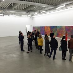 Artsy Onsite event with Jean-Baptiste Bernadet at Almine Rech Gallery Brussels  #jeanbaptistebernadet #alminerech #alminerechgallery #brussels #artsy @artsy by alminerechgallery