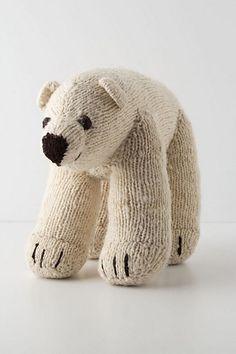Arctic Polar Bear by Kenana Knitters