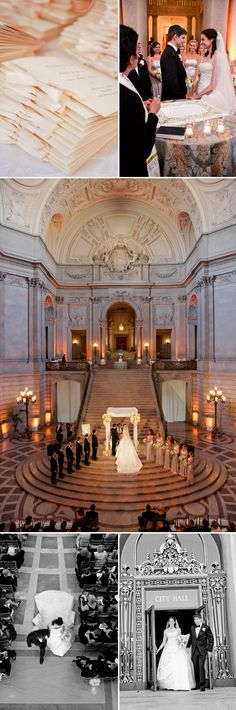 Gorgeous Jewish wedding at SF City Hall. #inspiration Please visit our website @ http://jewishhloidays2015.com