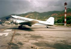 "Douglas DC-3A (YV-440C, c/n 2201) ""Caballo Viejo"" of Aeroejecutvios. J. de Baare collection."