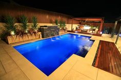 Creative Swimming Pool Designs With Best Lighting Ideas In Modern Home Decor Combined With Green Plants Decoration Inspiration