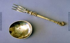 A fork with detachable spoon-bowl made in Germany (Lübeck?), c. 1590-1610