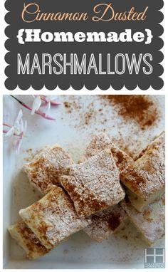Paleo Marshmallows (Dairy-free, Gluten-free, & Grain-free)