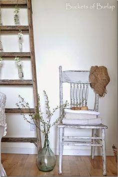 Spring Ladder, floppy hat