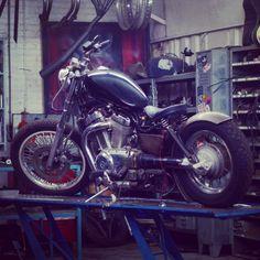 Suzuki Intruder   Bobber Inspiration - Bobbers and Custom Motorcycles October 2014