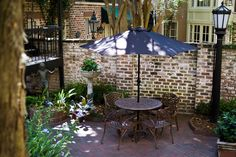 Savannah Courtyard Gardens | ... The Eliza Thompson House - Intimate Event Space in Historic Savannah