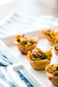 20 Apps For Your Next Cocktail Party | Baklava Filo Cups Recipe | @saltandwind | http://saltandwind.com