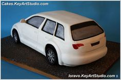 Торт Автомобиль Ауди А3. МК. Часть 1 из 2. | Blog Loravo: Кулинарные записки дизайнера