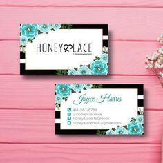 Honey and lace raffle ticket business card honey money raffle card honey and lace business card custom honey lace business colourmoves
