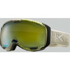 023bcbb5a890 Anon Goggles M1 White Gold Chrome Snowboard Goggles