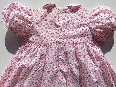 Girls Dresses Size 6, Girls Smocked Dresses, Baby Girl Dresses, Cotton Dresses, Peter Pan Collar Dress, Birthday Gifts For Girls, 6 Years, Beautiful Dresses, Dresses With Sleeves
