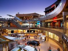 Santa Monica Place @Sondra Santangelo Monica, California I am obsessed with the architecture of this place