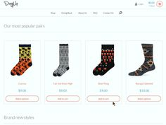 A fun add to cart animation I put together for www.divvyupsocks.com a few months ago.
