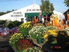 Joe Huber's Farm & Restaurant - one of my favorite places in Southern Indiana