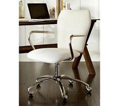 Airgo Swivel Desk Chair | Pottery Barn