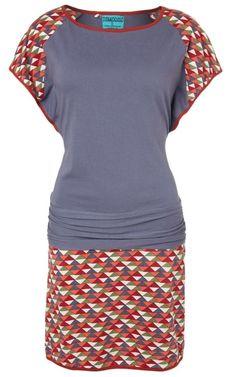 Sitia jurk, bij Solvejg.nl de webshop voor kleurrijke mode.
