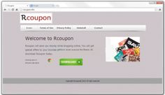 Rcoupon is an adware program that comes in the computer along with free downloads or fake updates.