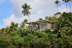 Surrounded by Lake Koggala, TRI Hotel is a sustainably built resort Sri Lankan resort with green walls and roofs, recycled wood furniture and solar heating that offers spectacular 360-degree views of verdant rainforests and the lake.