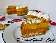 Fragrant Vanilla Cake: Raw Spiced Pumpkin Mocha Latte Cheesecake