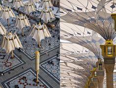 SEFAR® Architecture PTFE Fabric Stuns in Medina, Saudi Arabia