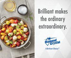 Diamond Crystal® Kosher Salt can help enhance the flavor of any dish! #DiamondCrystalSalt