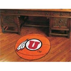 University of Utah Utes Basketball Floor Rug Mat