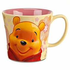 Disney Winnie the Pooh Mug - Spring Floral | Disney StoreWinnie the Pooh Mug - Spring Floral - Drift into your morning routine after a thoughtful sip from Pooh's floral mug with glorious glitter accents!