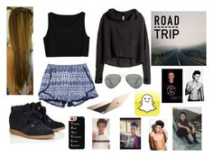 """""""Road trip with Cameron Dallas"""" by gmnarayan ❤ liked on Polyvore"""