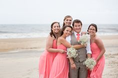 #obxwedding #obx #wedding #outerbankswedding #bridesmaids #beach #beachwedding