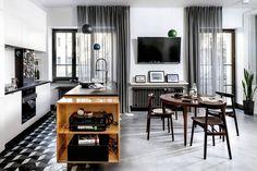 Apartament w stylu retro