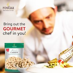 With quality Rostaa dry fruits by your side, you sure will feel like a gourmet chef every time you cook!