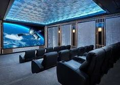 Welcome to Fairway Hall, is a one-of-a-kind luxurious 14 themed bedroom suites, … – Electronic is Charge Home Theater Room Design, Home Cinema Room, Home Theater Rooms, Theatre Design, Salas Home Theater, At Home Movie Theater, Home Movie Theaters, Fancy Houses, Luxury Homes Dream Houses