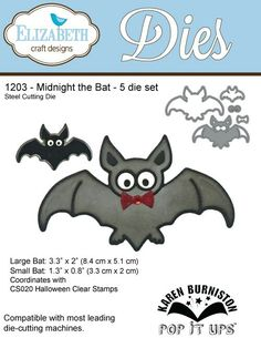 I love this little bat! In a tutorial, Karen shows how he can become a spider!