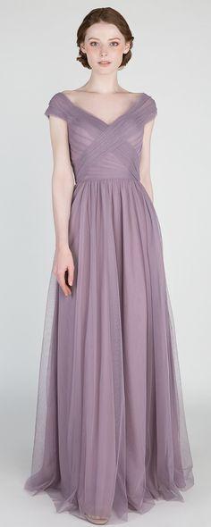 mauve tulle bridesmaid dresses 2018