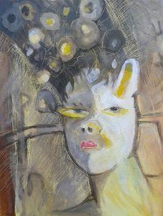 Miguel Curani. Artista plástico: 51/50 (18x24) carton entelado