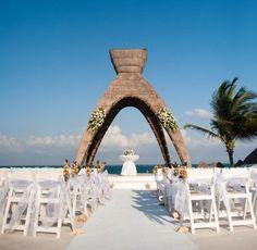 Dreams Riviera Cancun Wedding Gazebo