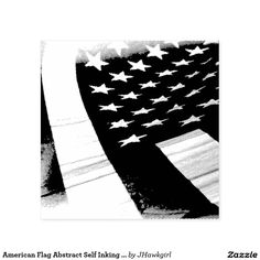 American Flag Abstract Self Inking Stamp by Amy Steeples. Available on #zazzle.