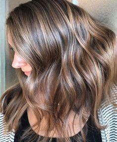 Dimensional brunette bayalage.  Fall hair.