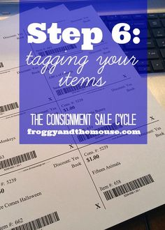 The Consignment Sale Cycle – Step 6
