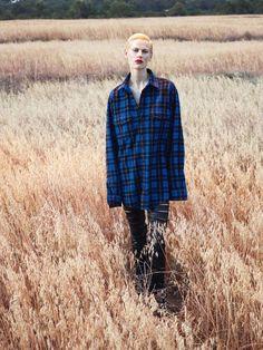 "Saskia de Brauw in ""La Fièvre Grunge"" by Mert Alas and Marcus Piggott for Vogue Paris September 2013"