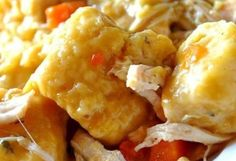 Slow Cooker Chicken and Dumplings Creamy Chicken And Dumplings, Cream Of Chicken Soup, Slow Cooker Recipes, Crockpot Recipes, Cooking Recipes, Chicken Recipes, Crockpot Dishes, Slow Cooking, Chicken Soups