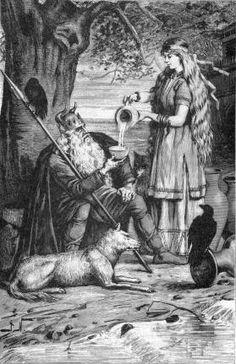 Illustration de la déesse Frigg n°22