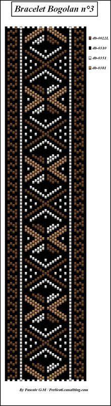 #beading #beadwork #pattern #mosaic #peyote