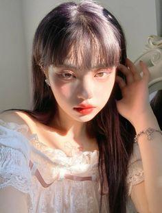 Korean Beauty Girls, Pretty Korean Girls, Cute Korean Girl, Asian Girl, Cute Makeup, Pretty Makeup, Makeup Looks, Uzzlang Girl, Girl Face