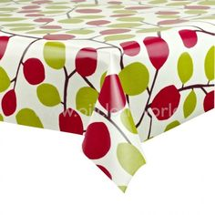 Wipe clean tablecloth, hard wearing, no need to wash or iron. Oilcloth Tablecloth, Table Covers, Floral Fabric, Outdoor Furniture, Outdoor Decor, Cleaning Wipes, Ottoman, Spices