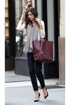 It Bag 2014: Miranda Kerr trägt Céline Shopper Bag