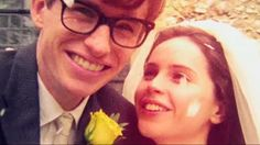 A still from the movie The Theory Of Everything. New favorite couple