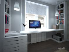 Top 10 Atemberaubendes Home-Office-Design # homeofficefurniture # homeofficewalmart # homeo …. Top 10 Atemberaubendes Home-Office-Design # homeofficefurniture # homeofficewalmart # homeo … , Cores Home Office, Home Office Colors, Home Office Space, Home Office Design, Home Office Decor, Office Designs, Small Office, Office Ideas, Office Setup