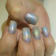 #salonbohemiallc #acrylic #gelpolish #shimmer #gradient #nailart #nails